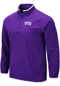 TCU Horned Frogs Colosseum Chalmers 1/4 Zip Pullover - Purple