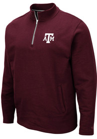 Texas A&M Aggies Colosseum Comic 1/4 Zip Pullover - Maroon