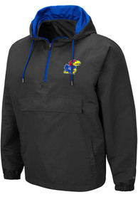Kansas Jayhawks Colosseum Dolph Light Weight Jacket - Charcoal