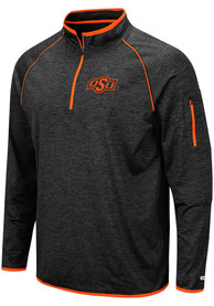 Oklahoma State Cowboys Colosseum Duff 1/4 Zip Pullover - Black