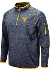 West Virginia Mountaineers Colosseum Duff 1/4 Zip Pullover - Navy Blue