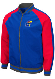 Kansas Jayhawks Colosseum Kent Light Weight Jacket - Blue