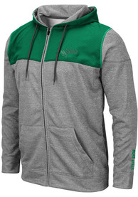 North Texas Mean Green Colosseum Nelson Zip - Grey