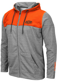 Oklahoma State Cowboys Colosseum Nelson Zip - Grey