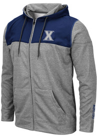 Xavier Musketeers Colosseum Nelson Zip - Grey