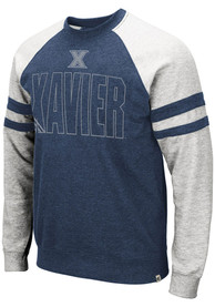 Xavier Musketeers Colosseum Oh Fashion Sweatshirt - Navy Blue
