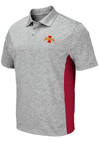 Iowa State Cyclones Colosseum Alaska Polo Shirt - Grey