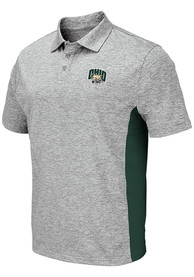 Ohio Bobcats Colosseum Alaska Polo Shirt - Grey