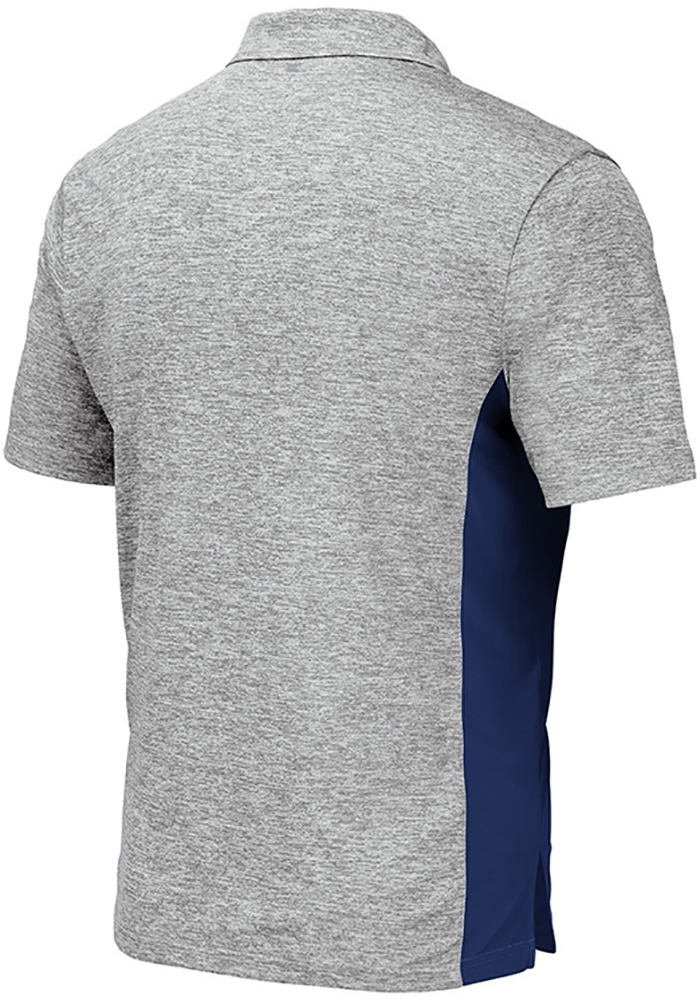 Colosseum Xavier Musketeers Mens Grey Alaska Short Sleeve Polo - Image 2