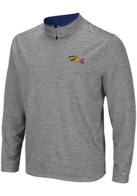 Drexel Dragons Colosseum Alligators are Ornery 1/4 Zip Pullover - Grey