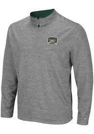 Ohio Bobcats Colosseum Alligators are Ornery 1/4 Zip Pullover - Grey