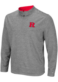 Rutgers Scarlet Knights Colosseum Alligators are Ornery 1/4 Zip Pullover - Grey