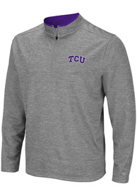 TCU Horned Frogs Colosseum Alligators are Ornery 1/4 Zip Pullover - Grey