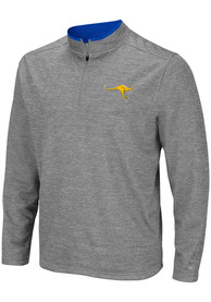 UMKC Roos Colosseum Alligators are Ornery 1/4 Zip Pullover - Grey