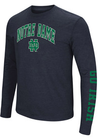 Notre Dame Fighting Irish Colosseum Jackson T Shirt - Navy Blue