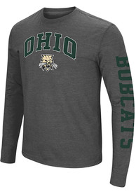 Ohio Bobcats Colosseum Jackson T Shirt - Grey
