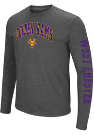 West Chester Golden Rams Colosseum Jackson T Shirt - Charcoal