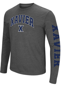 Xavier Musketeers Colosseum Jackson T Shirt - Grey