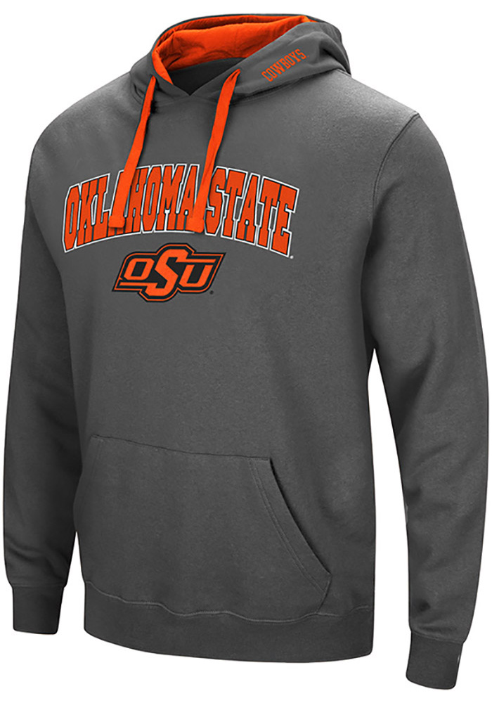6211b4d88 Colosseum Oklahoma State Cowboys Grey Manning Hoodie