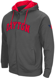 Dayton Flyers Colosseum Classic Full Zip Jacket - Charcoal