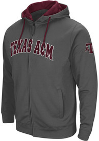 Texas A&M Aggies Colosseum Classic Full Zip Jacket - Charcoal