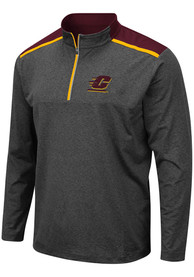 Central Michigan Chippewas Colosseum Snowball 1/4 Zip Pullover - Grey