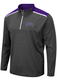 TCU Horned Frogs Colosseum Snowball 1/4 Zip Pullover - Grey