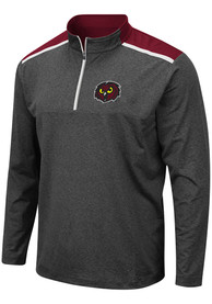Temple Owls Colosseum Snowball 1/4 Zip Pullover - Grey