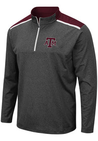 Texas A&M Aggies Colosseum Snowball 1/4 Zip Pullover - Grey