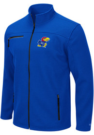 Kansas Jayhawks Colosseum Willie Medium Weight Jacket - Blue