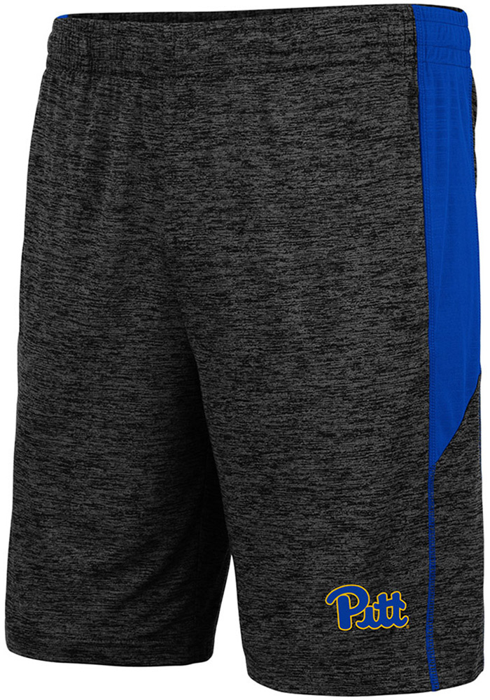 Colosseum Pitt Panthers Mens Charcoal Jordan Shorts - Image 1