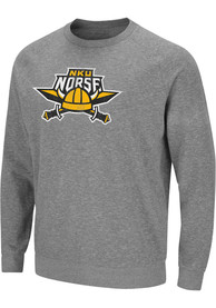 Northern Kentucky Norse Colosseum Henry French Terry Crew Sweatshirt - Grey