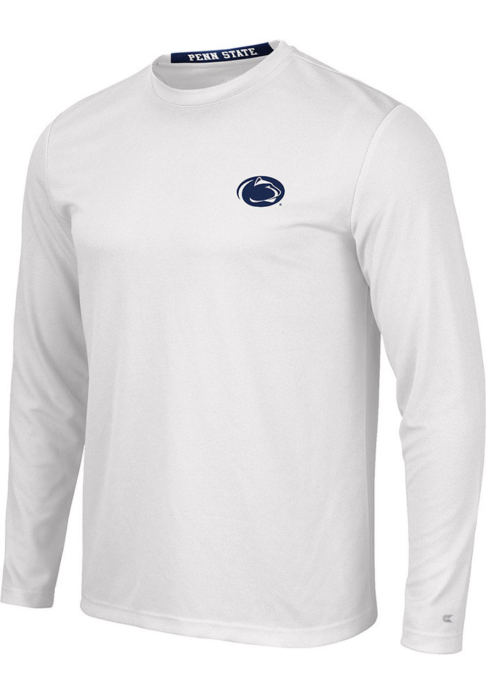 Colosseum Penn State Nittany Lions White Wade Long Sleeve T-Shirt - Image 1