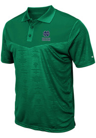 Notre Dame Fighting Irish Colosseum Finn Heathered Polo Shirt - Green