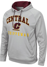 Central Michigan Chippewas Colosseum Coach Hood - Grey