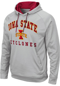 Iowa State Cyclones Colosseum Coach Hood - Grey