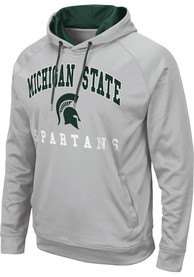 Michigan State Spartans Colosseum Coach Hood - Grey