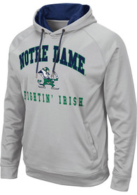 Notre Dame Fighting Irish Colosseum Coach Hood - Grey