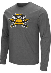 Northern Kentucky Norse Colosseum Playbook T Shirt - Charcoal