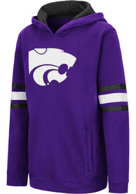K-State Wildcats Youth Colosseum Chef Hooded Sweatshirt - Purple