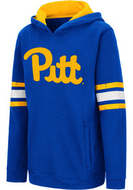 Pitt Panthers Youth Colosseum Chef Hooded Sweatshirt - Blue