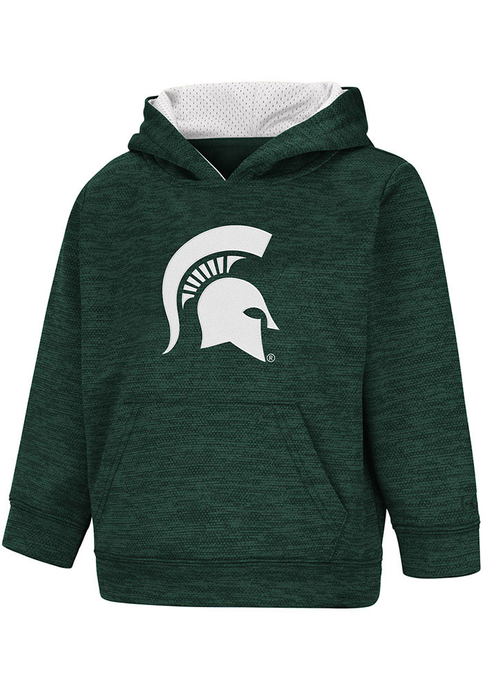 Colosseum Michigan State Spartans Toddler Green Statler Long Sleeve Hooded Sweatshirt - Image 1