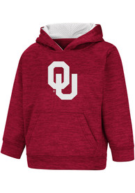 Oklahoma Sooners Toddler Colosseum Statler Hooded Sweatshirt - Cardinal