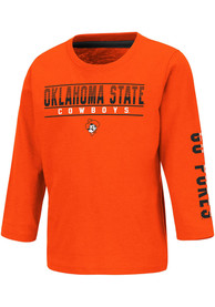 Oklahoma State Cowboys Toddler Colosseum Flackless T-Shirt - Orange