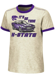 K-State Wildcats Toddler Colosseum Indianrockolis T-Shirt - Oatmeal