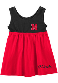 Nebraska Cornhuskers Baby Girls Colosseum Berlin Dress - Red