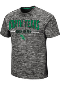 North Texas Mean Green Colosseum Born And Raised T Shirt - Grey