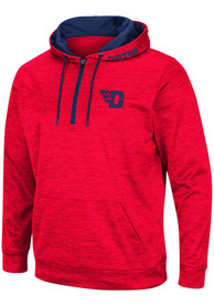Dayton Flyers Colosseum Marled Hood - Red
