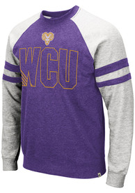 West Chester Golden Rams Colosseum DOh Fashion Sweatshirt - Grey
