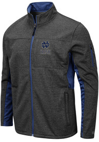 Notre Dame Fighting Irish Colosseum Bumblebee Light Weight Jacket - Charcoal